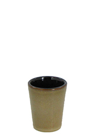 1.5 oz shot glass - retro glaze