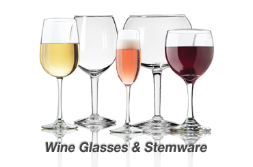 cheap wine glasses and stemware