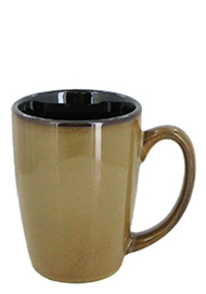 16 oz houston coffee mug - retro glaze