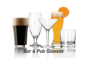 beer and wine glasses on sale
