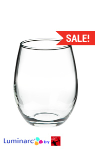 15 oz perfection stemless wine glasses MADE IN USA