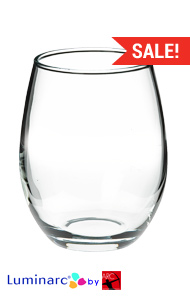 21 oz perfection stemless wine glasses MADE IN USA