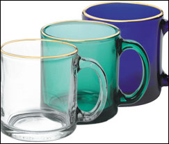 13 oz. Glass Mugs