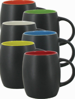 14 oz Robusto Mug - Matte Two Tone