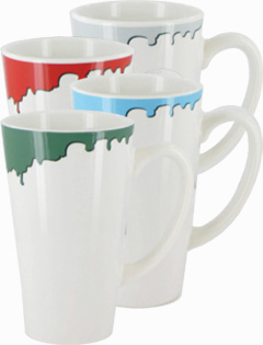 16 oz. Cody Drip design Funnel Mug