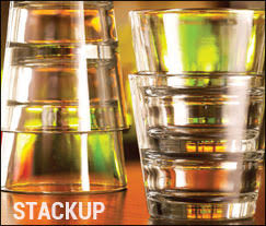 StackUp Bar & Restaurant Glasses