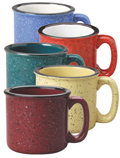15 oz Campfire Speckled Stoneware Mugs