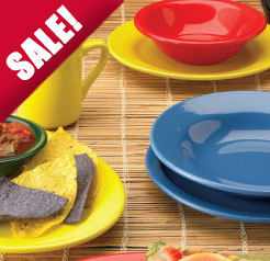 Cancun Vitrified Ceramic Dinnerware