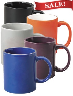 11 oz Ceramic Coffee Mugs