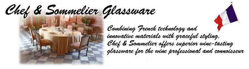 Chef & Sommelier Wine Glassware - Made in France