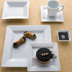 elite rectangular china
