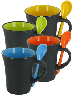 9 oz Hilo Spoon Mugs