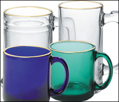 Libbey Glass Mugs