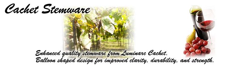 Luminarc Cachet Wine Glasses & Champagne Flutes