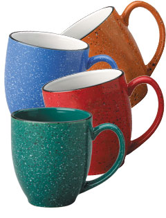 15 oz New Mexico Speckled Bistro Mugs