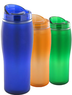 14 oz Optima Silk Matte Finish Travel Mug - BPA Free