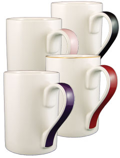 13 oz Orlando Color Handle Mugs