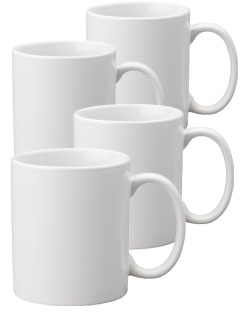11 oz Porcelain Mugs