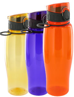 24 oz Quenchers Poly Water Bottle - BPA Free