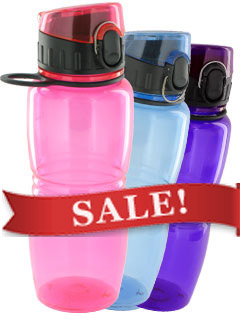 17 oz Splash Reusable Water Bottle - BPA Free
