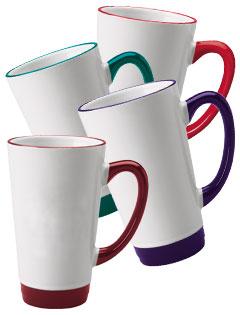 16 Oz Topeka Midland Latte Mugs