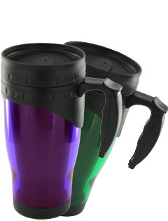 16 oz Traveler Travel Coffee Mug - BPA Free