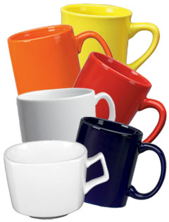 Restaurant Coffee Mugs - Vitrified