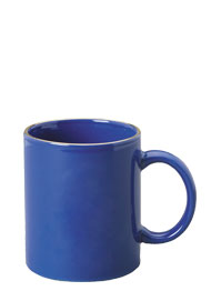 11 oz c-handle coffee mug - midnight blue