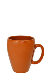 11 oz Rust Toronto Bistro Ceramic Coffee Mug