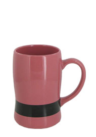 14 oz oregon belt mug - Pink Black belt
