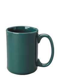 15 oz el grande ceramic mug - green