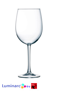16 oz Cachet clear stem Goblet White wine MADE IN USA