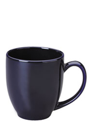 15 oz bistro coffee mug - cobalt blue