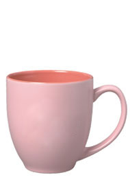 15 Oz Matte Pastel Sorbet Ceramic Coffee Mugs Purple