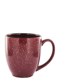 15 oz new mexico bistro coffee mug - burgundy