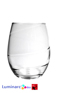21 oz Aurora perfection stemless wine glasses MADE IN USA