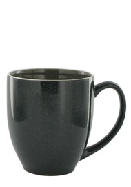 15 oz newport bistro coffee mug- charcoal gray