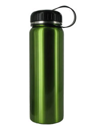 26 oz green quest stainless steel sports bottle