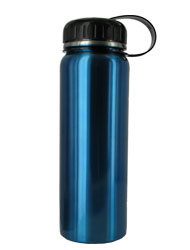 26 oz blue quest stainless steel sports bottle