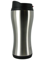 14 oz stainless steel silver urbana travel mug