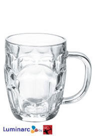 20 oz britannica glass mug - MADE IN USA