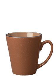 12 oz newport latte mug - chocolate