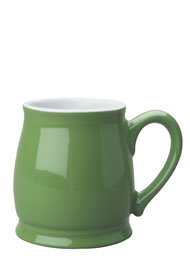 15 oz lime green spokane mug coffee cup