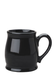 15 oz black spokane mug coffee cup