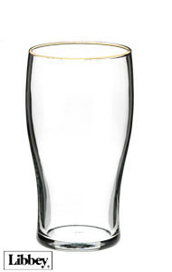 20 oz Libbey pub glass beer glass
