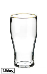 16 oz Libbey pub glass beer glass