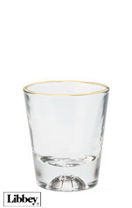 1.5 oz Libbey basketball sport shot glass