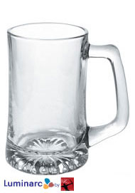 15 oz sport glass mug
