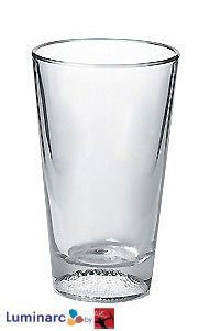 16 oz athlete mixing glass - football