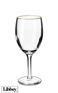 8 ounces Libbey citation wine glasses MADE IN USA
